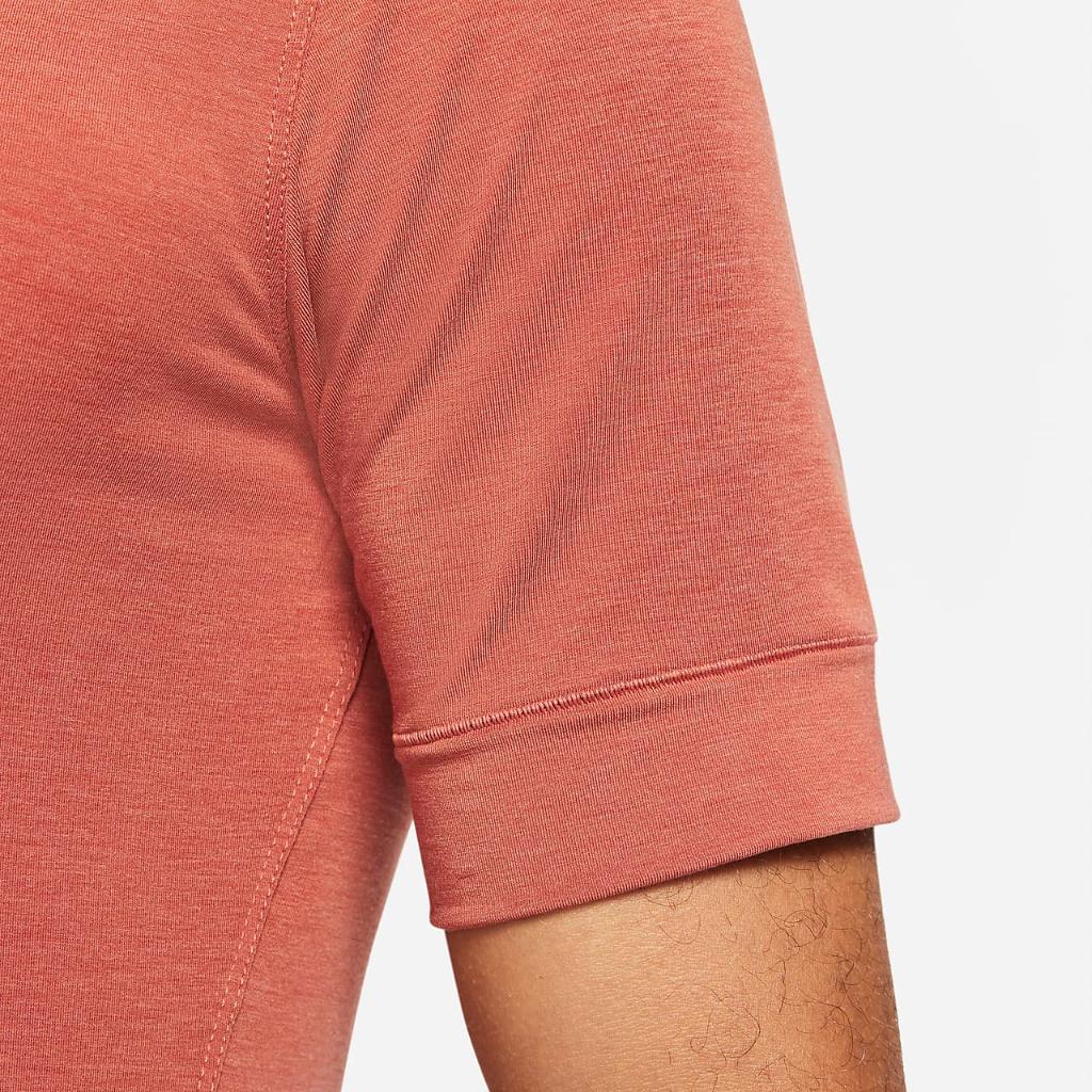 Nike Dri-FIT Men's Short-Sleeve Yoga Training Top CN9822-252