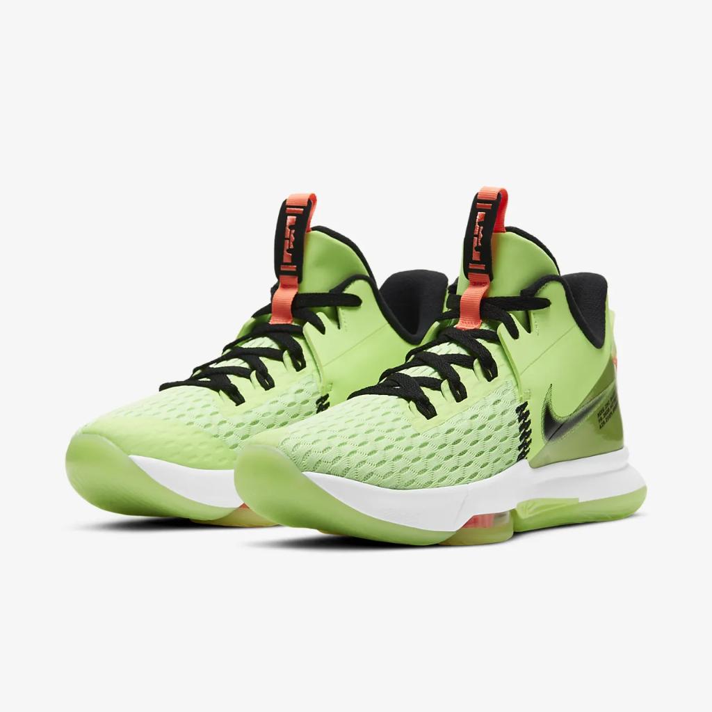 LeBron Witness 5 Basketball Shoe CQ9380-300