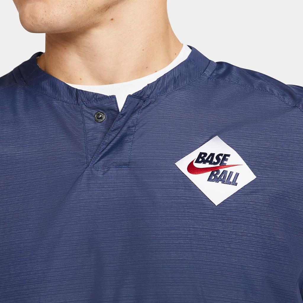 Nike Men's Baseball Long-Sleeve Windshirt CT1996-410