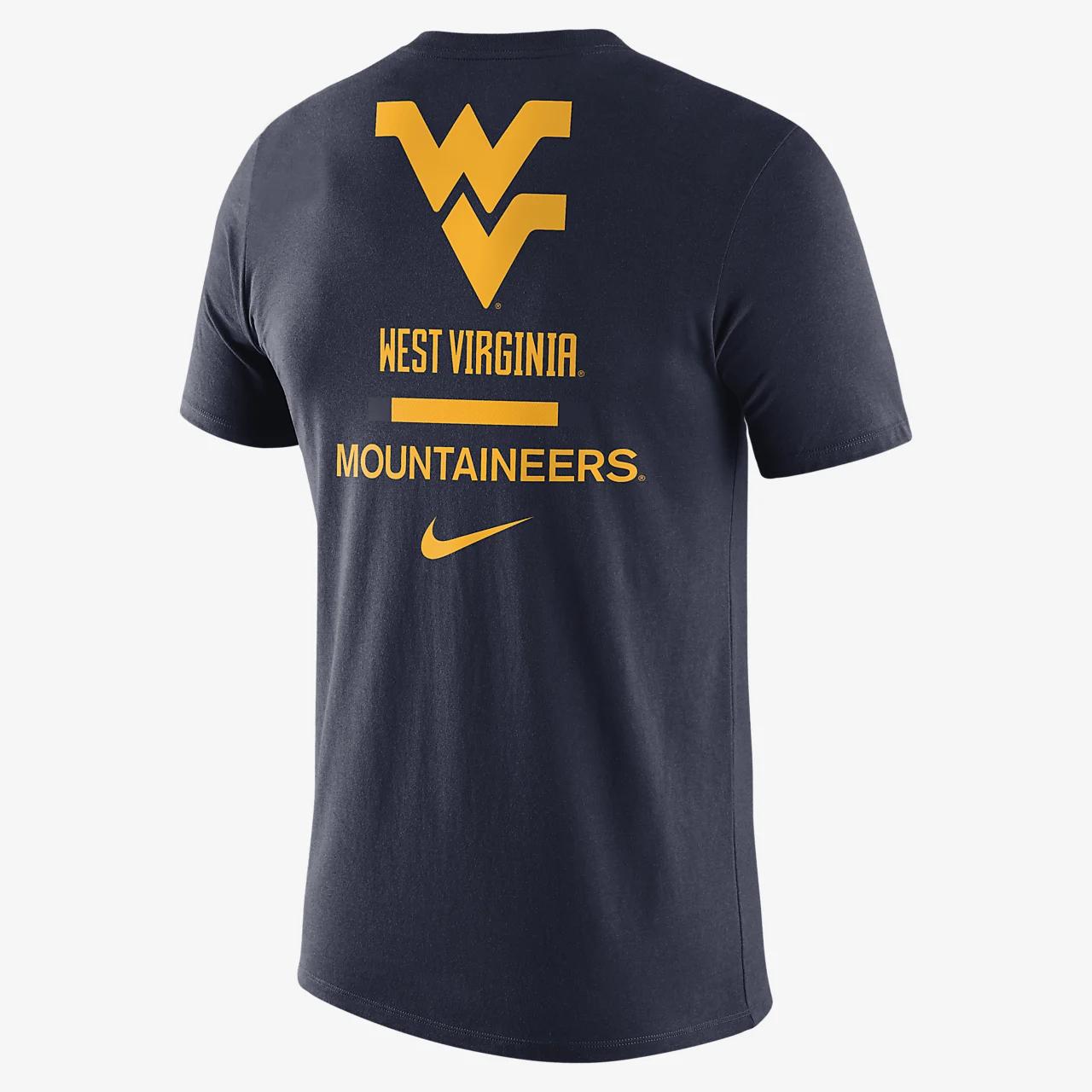 나이키 칼리지 드라이핏(웨스트 버지니아) 남성 티셔츠 CT8224-419