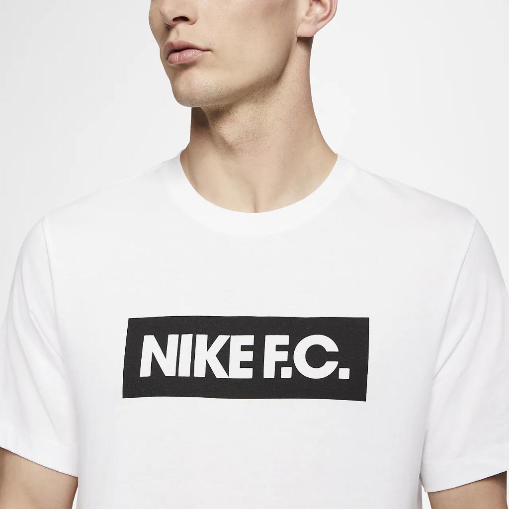 나이키 FC 남자 축구 티셔츠 CT8429-100
