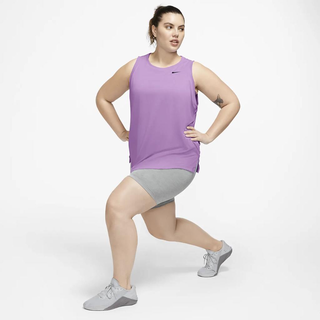 Nike Dri-FIT Women's Swoosh Training Tank (Plus Size) CT9413-592
