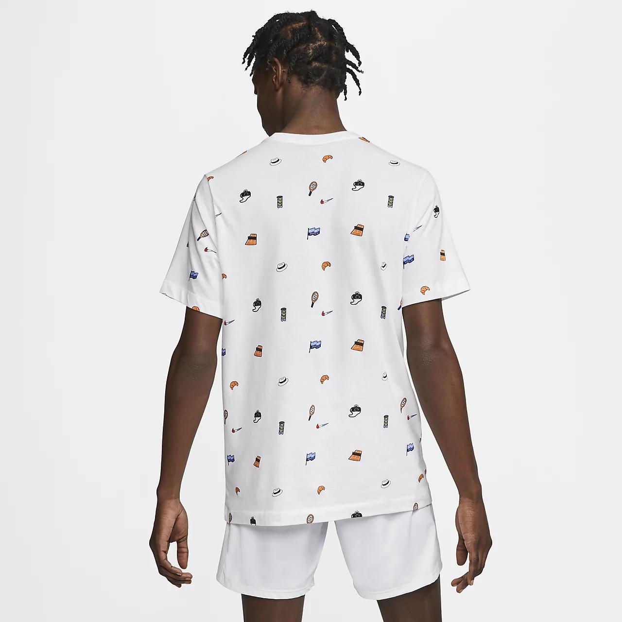 나이키코트 남자 테니스 티셔츠 CU0331-100