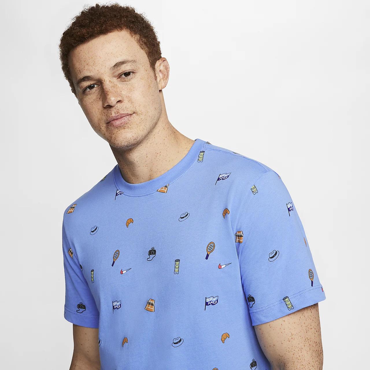 나이키코트 남자 테니스 티셔츠 CU0331-478
