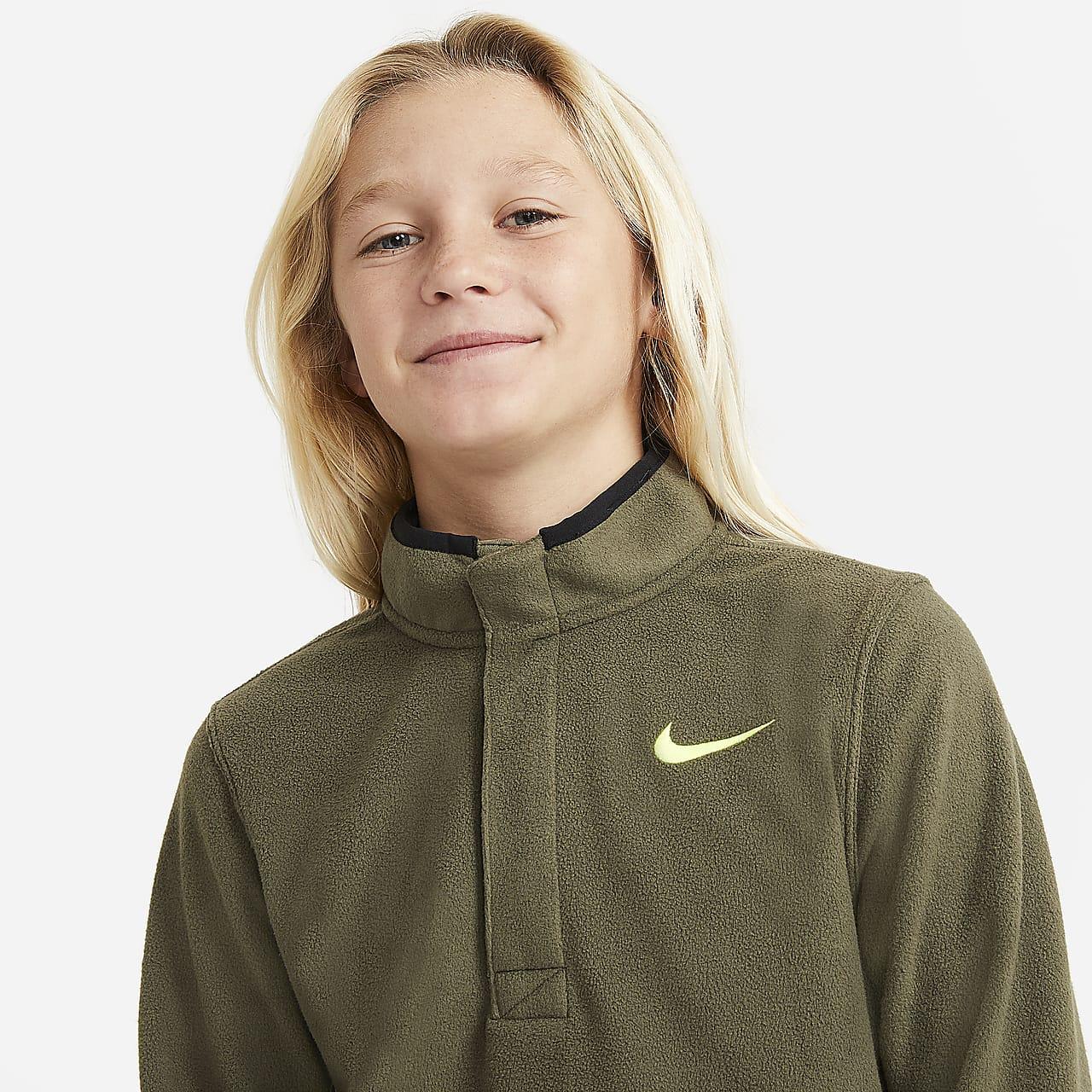 Nike Therma Victory Boys' Golf Top CU2203-222