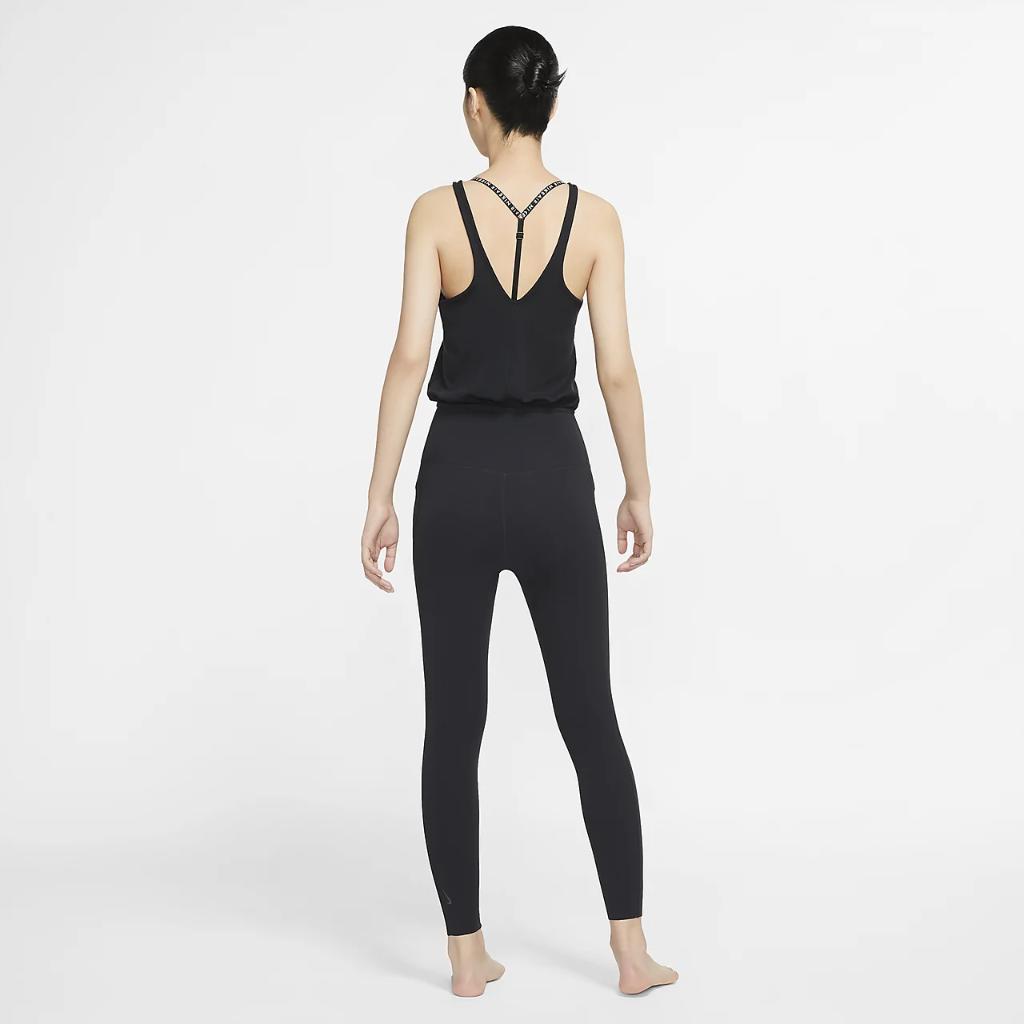 Nike Yoga Women's Infinalon Jumpsuit CU5455-010