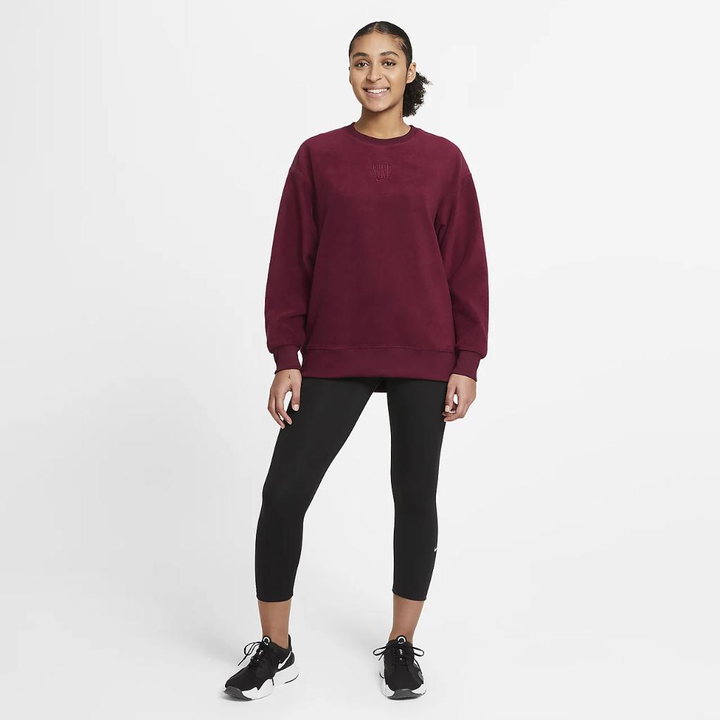 Nike Therma Women's Fleece Training Top CU6101-638