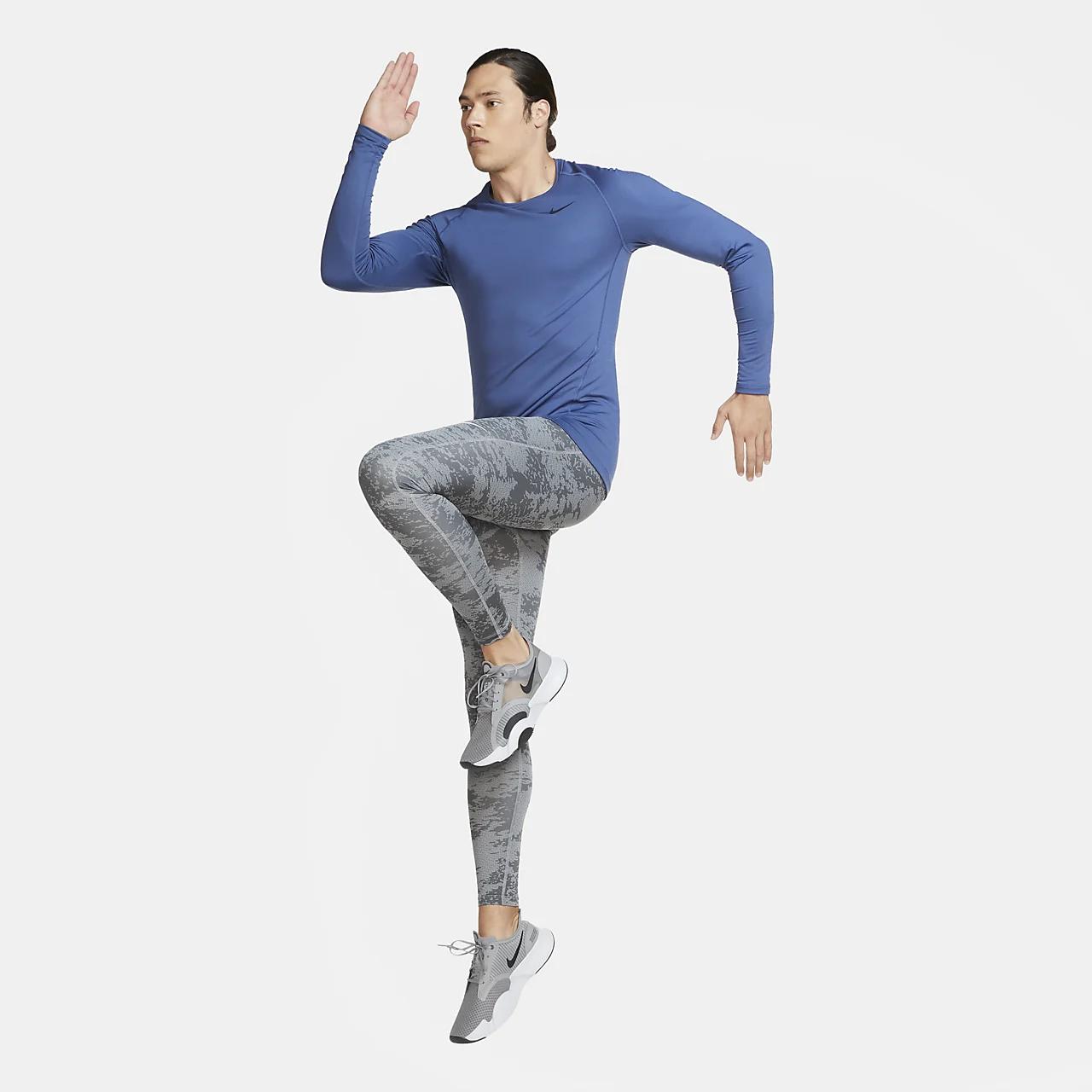 Nike Pro Warm Men's Long-Sleeve Top CU6740-469