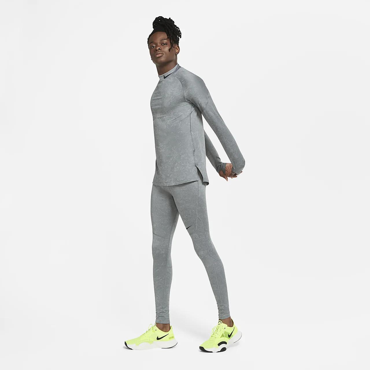 Nike Pro Warm Utility Men's Long-Sleeve Training Top CU6743-084