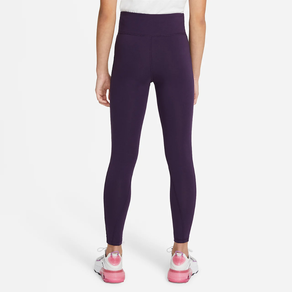 Nike Sportswear Favorites Big Kids' (Girls') High-Waisted Leggings CU8248-525