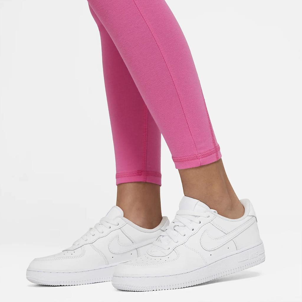 Nike Sportswear Favorites Big Kids' (Girls') High-Waisted Leggings CU8248-684
