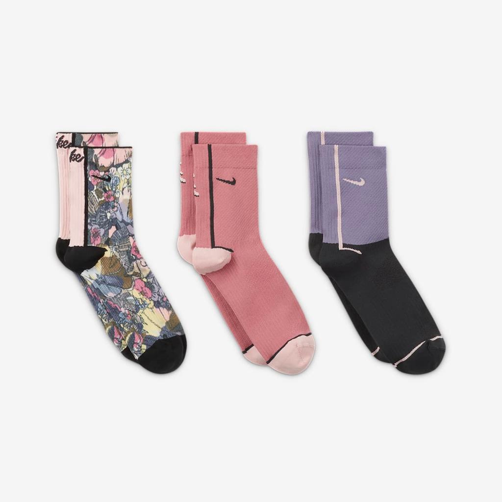 Nike Everyday Plus Women's Training Ankle Socks (3 Pairs) CU8385-902