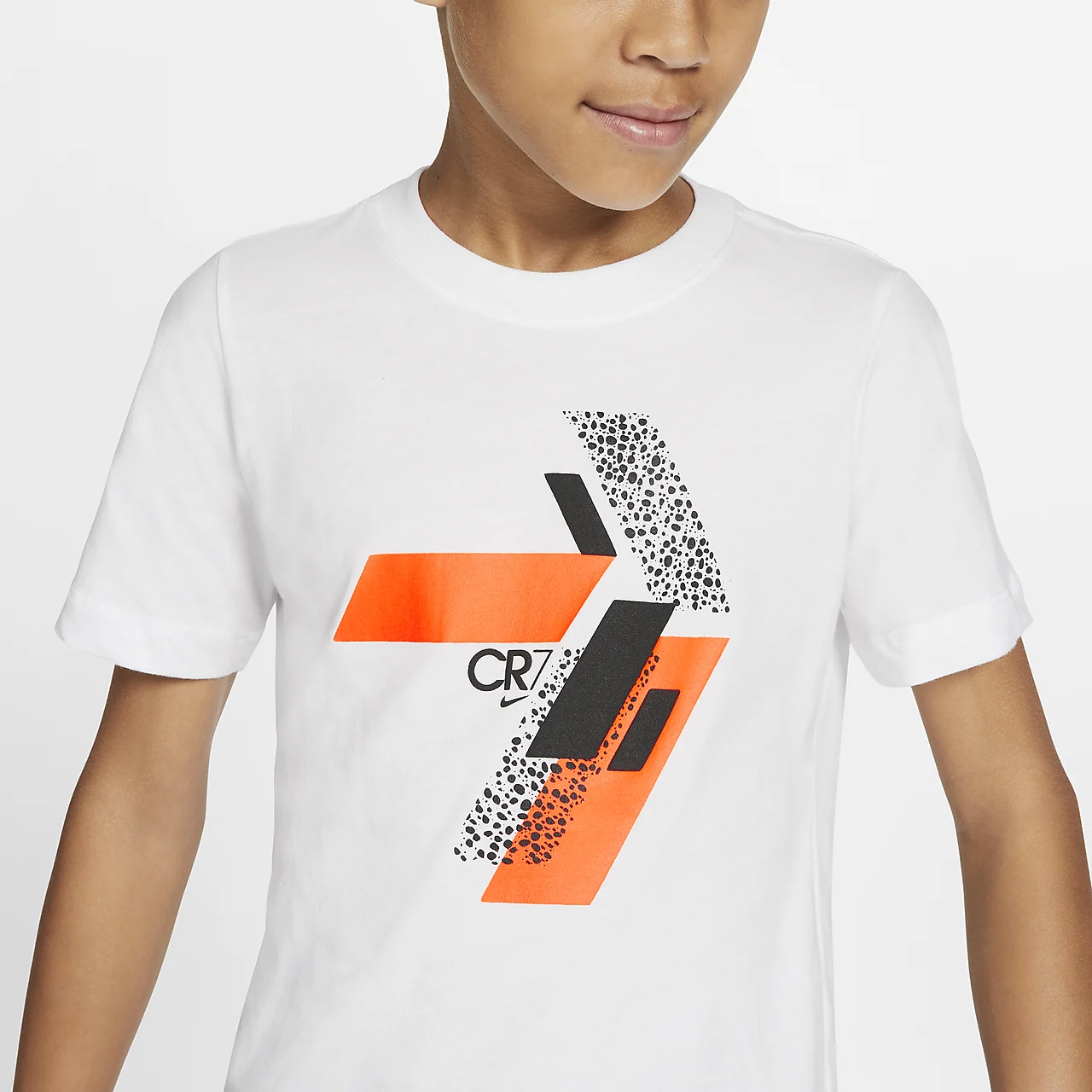 CR7 빅 키즈 축구 티셔츠 CU9572-100