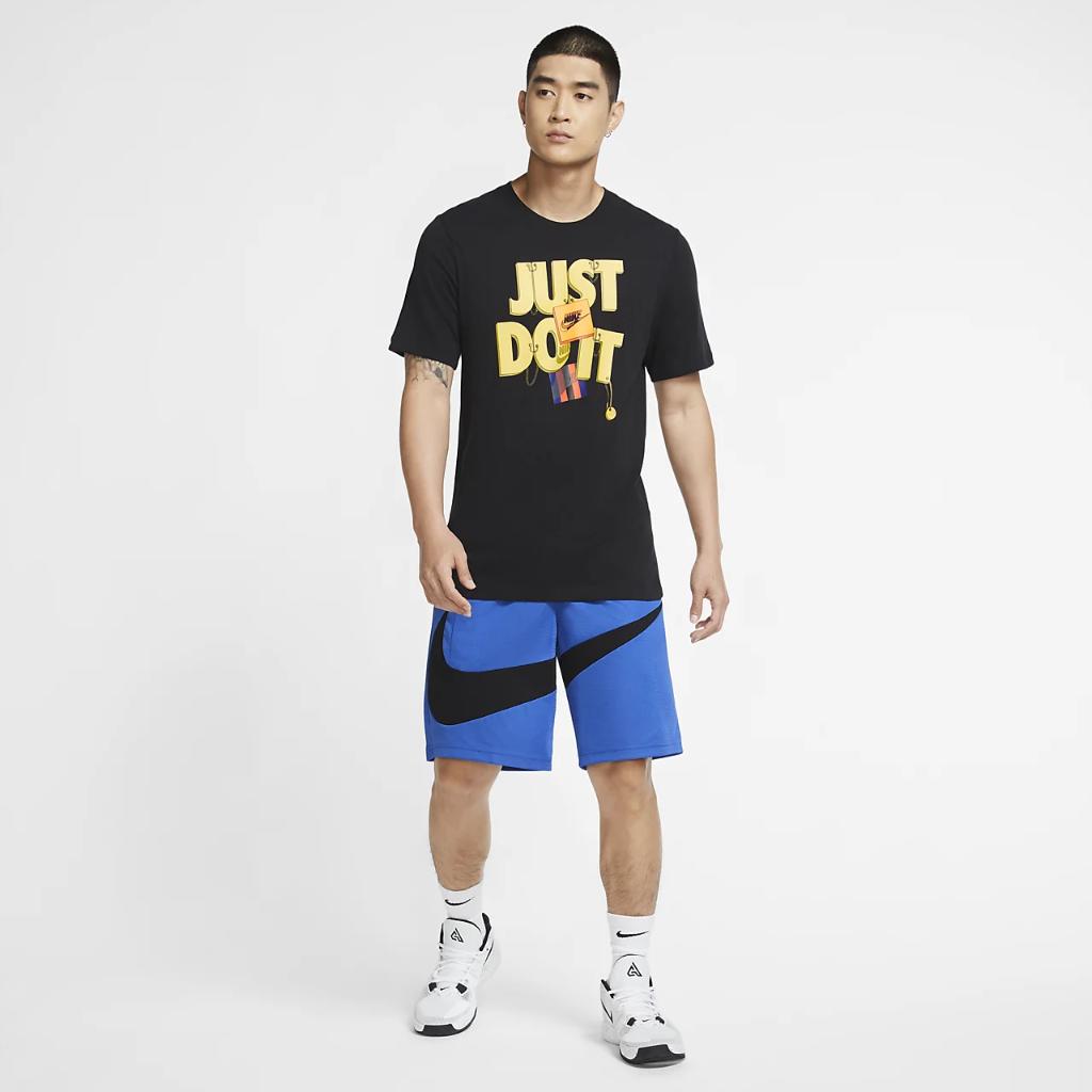 "Nike Dri-FIT ""Just Do It."" Men's Basketball T-Shirt CV1075-010"