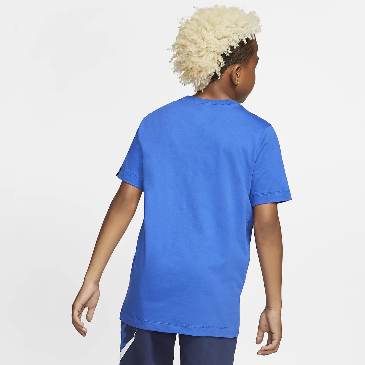 나이키 스포츠웨어 빅 키즈(보이즈) 티셔츠 CV2152-480