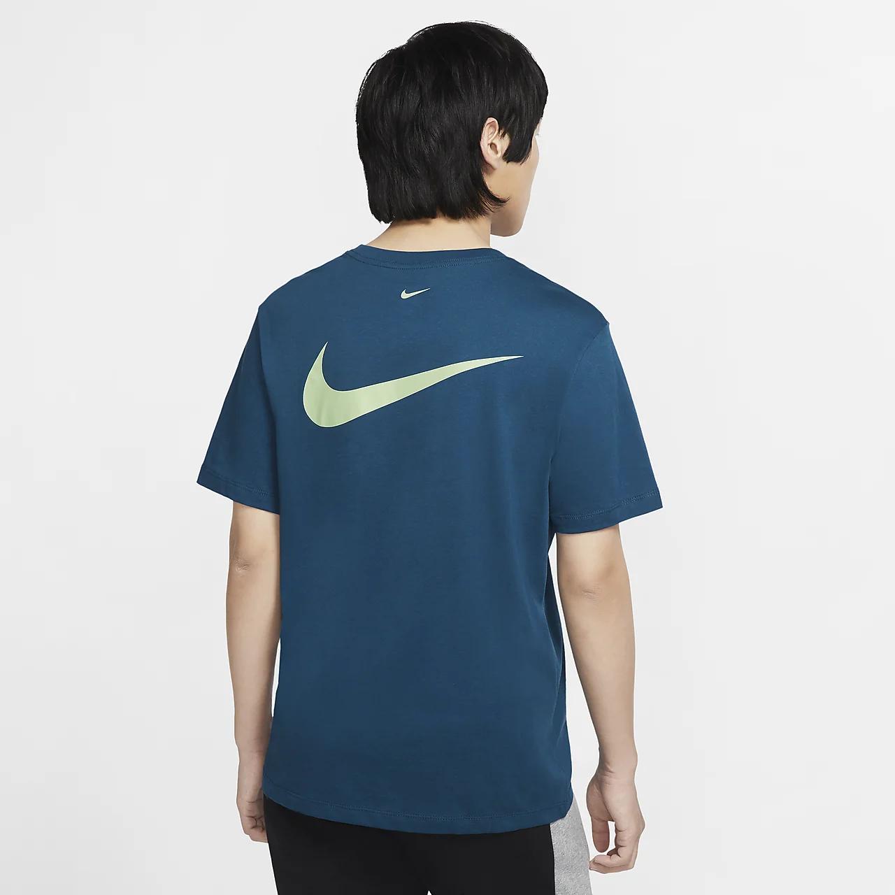 나이키 스포츠웨어 스우시 남성 티셔츠 CV5892-499