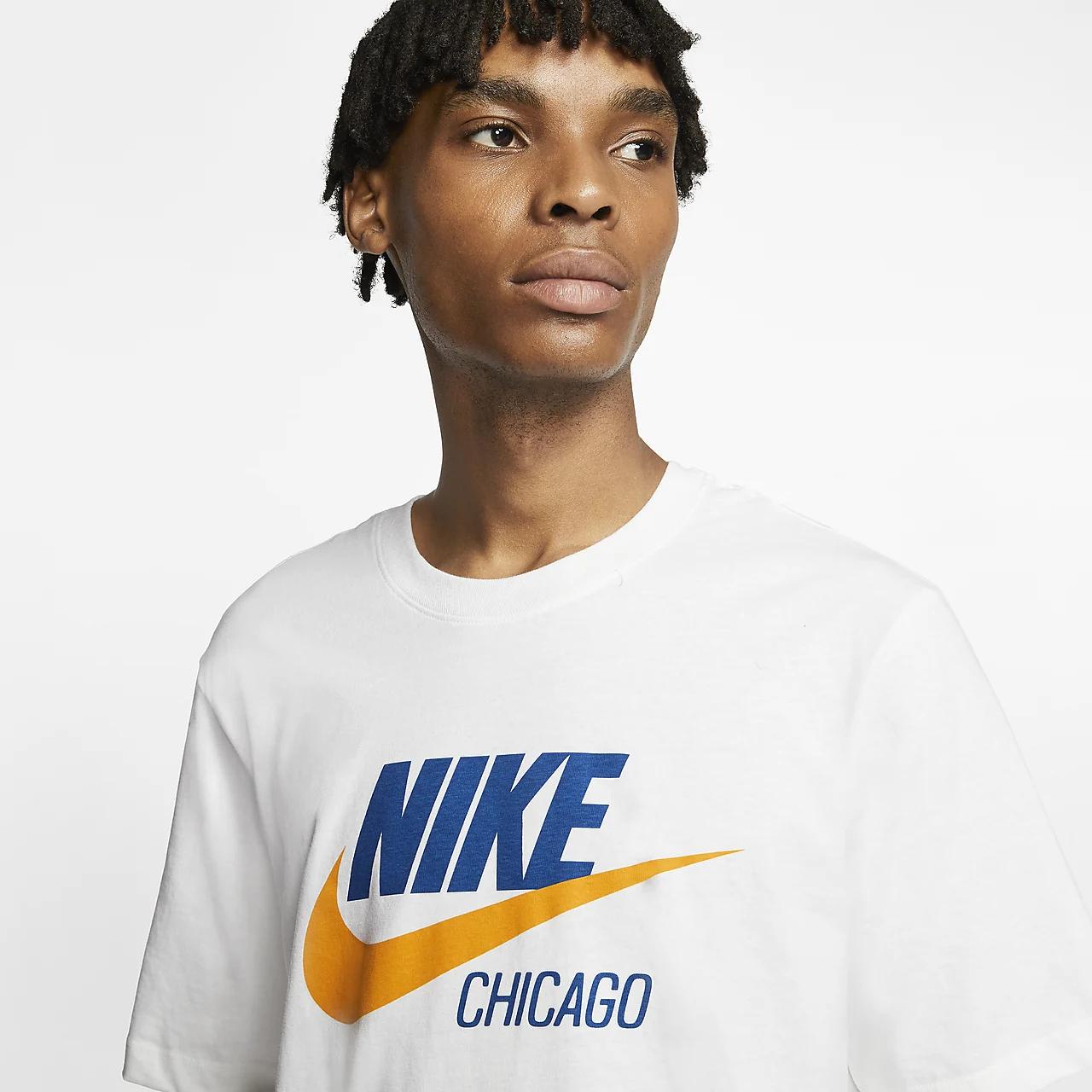 나이키 스포츠웨어 시카고 남성 티셔츠 CW0849-100