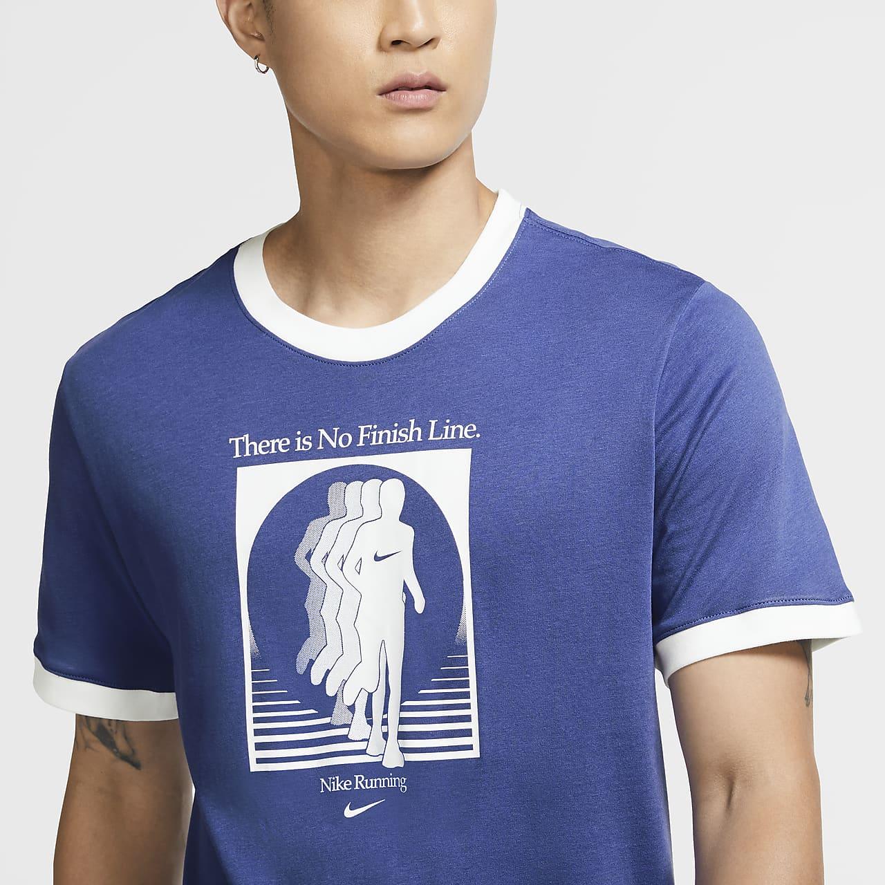 나이키 드라이핏 남성 러닝 티셔츠 CW0943-430