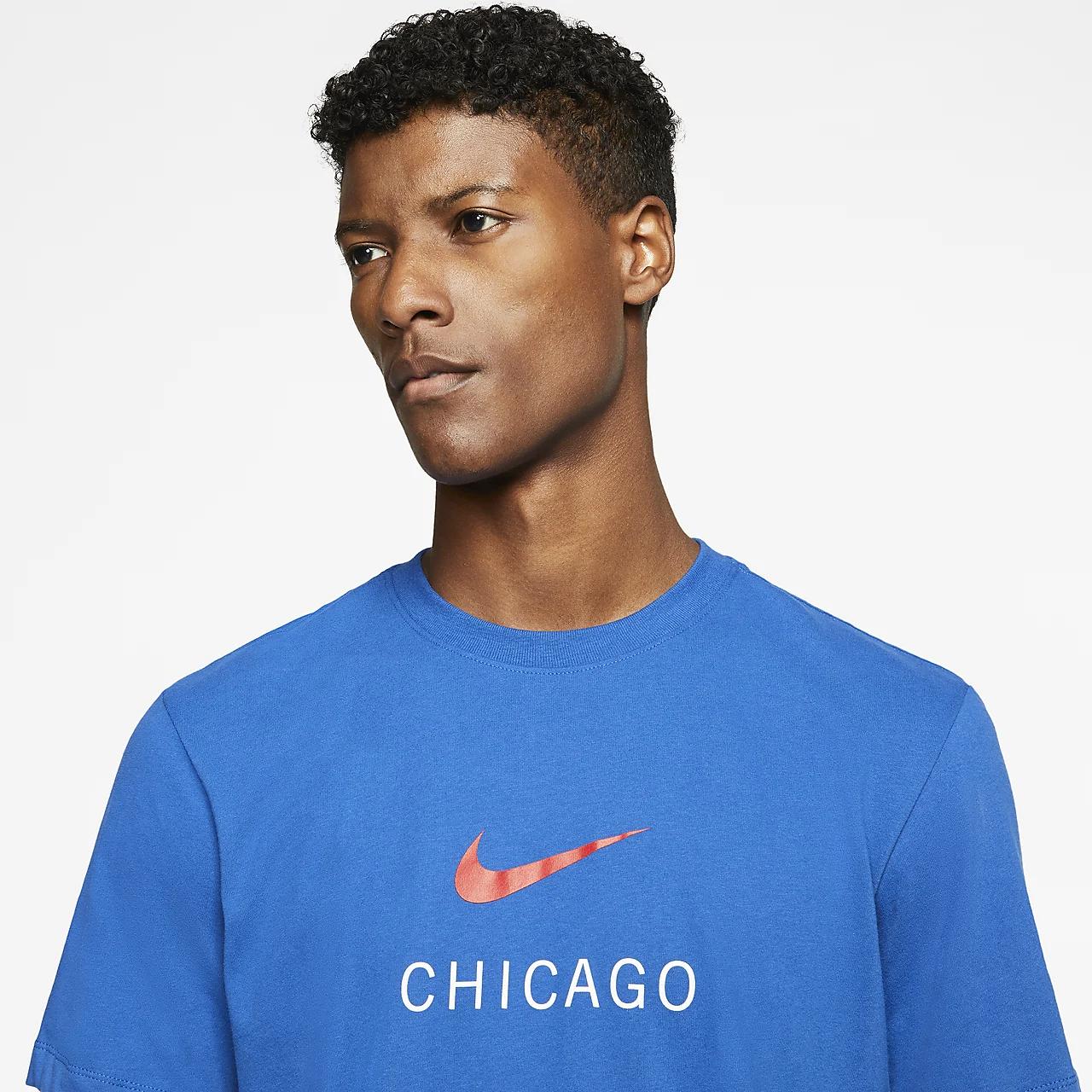 나이키 드라이핏 시카고 남자 트레이닝 티셔츠 CW2353-477