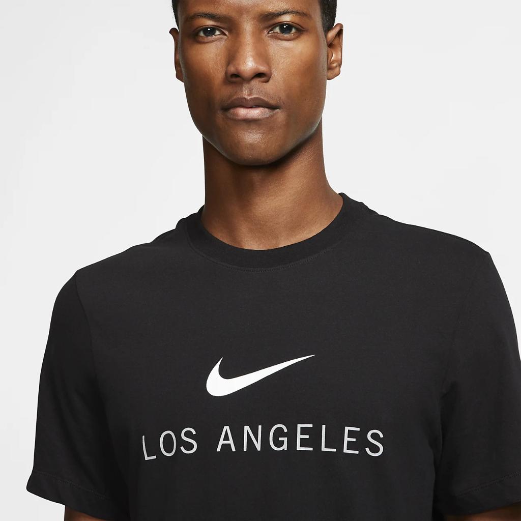 나이키 드라이핏 로스앤젤레스 남자 트레이닝 티셔츠 CW2354-010