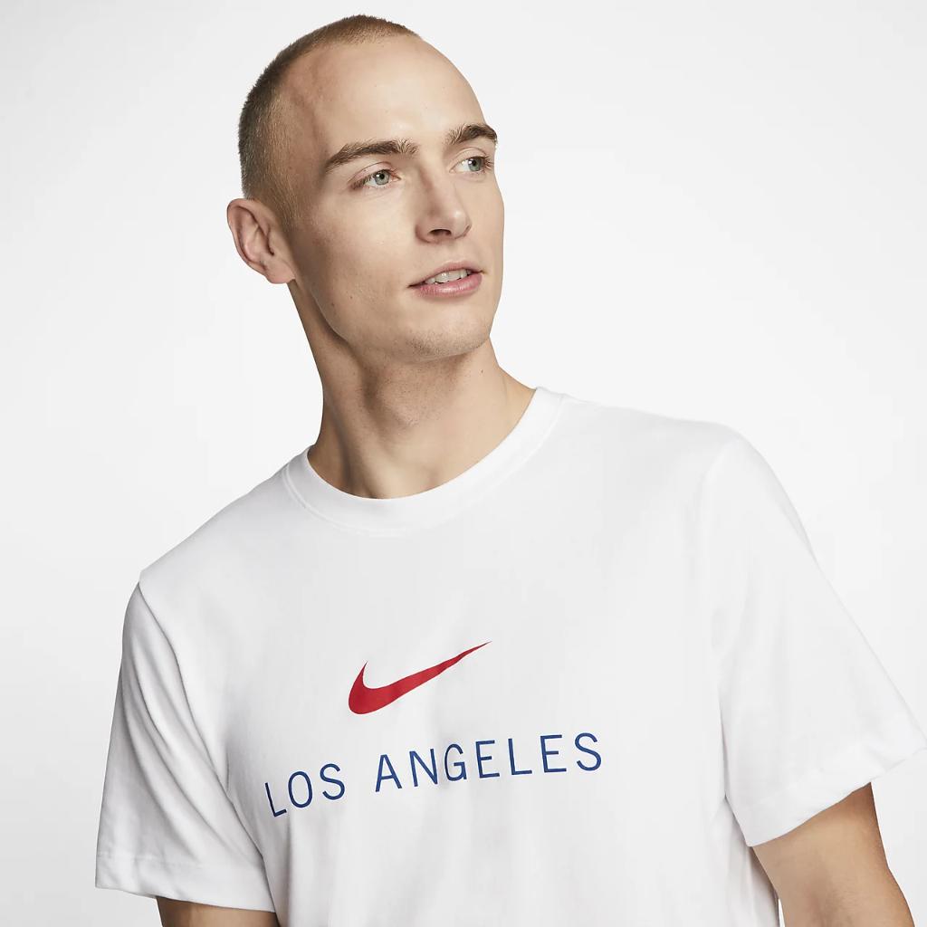 나이키 드라이핏 로스앤젤레스 남자 트레이닝 티셔츠 CW2354-100