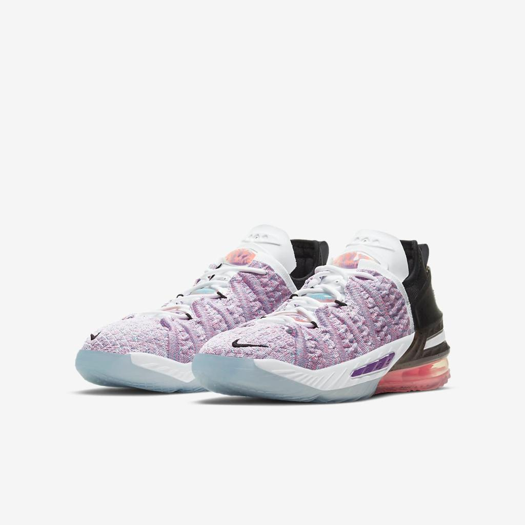 LeBron 18 Big Kids' Basketball Shoe CW2760-900