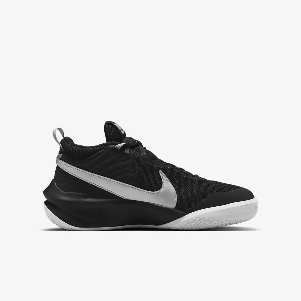 Nike Team Hustle D 10 Big Kids' Basketball Shoe CW6735-004