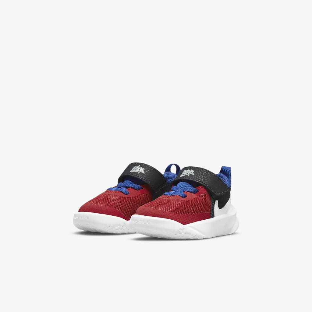 Nike Team Hustle D 10 Baby/Toddler Shoe CW6737-005