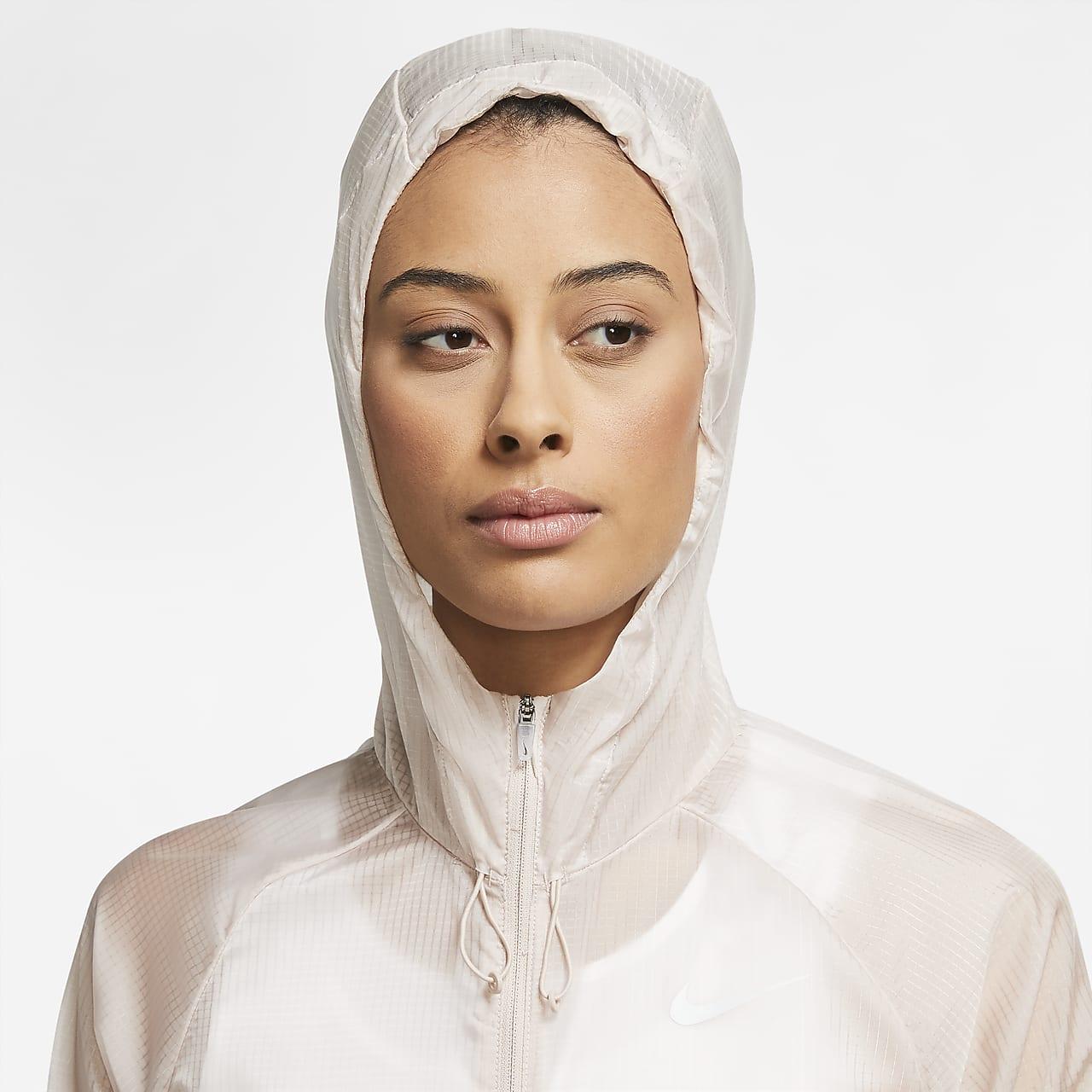 Nike Women's Full-Zip Hooded Running Jacket CZ2833-292