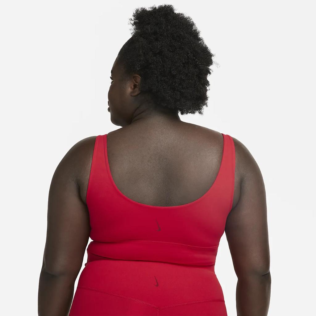 Nike Yoga Luxe Women's Infinalon Cropped Tank (Plus Size) CZ3286-687