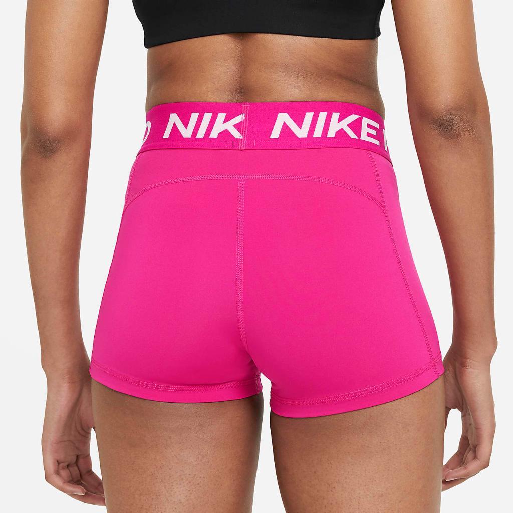 """Nike Pro Women's 3"""" Shorts CZ9857-615"""