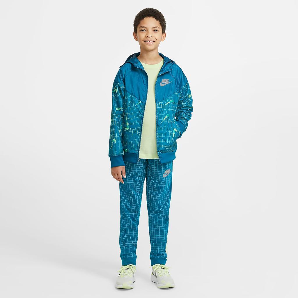 Nike Sportswear Windrunner Big Kids' (Boys') Jacket DA0758-301