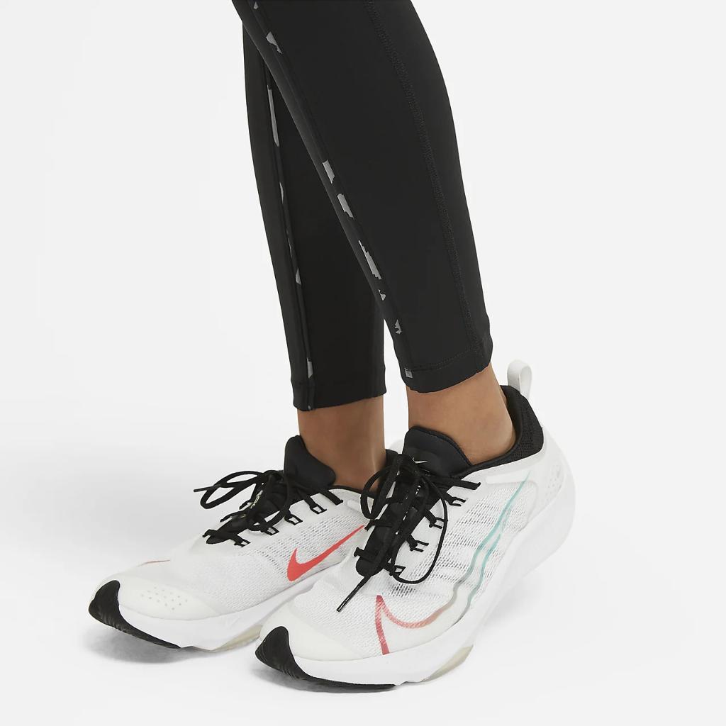 Nike One Big Kids' (Girls') Printed Leggings DA0901-010