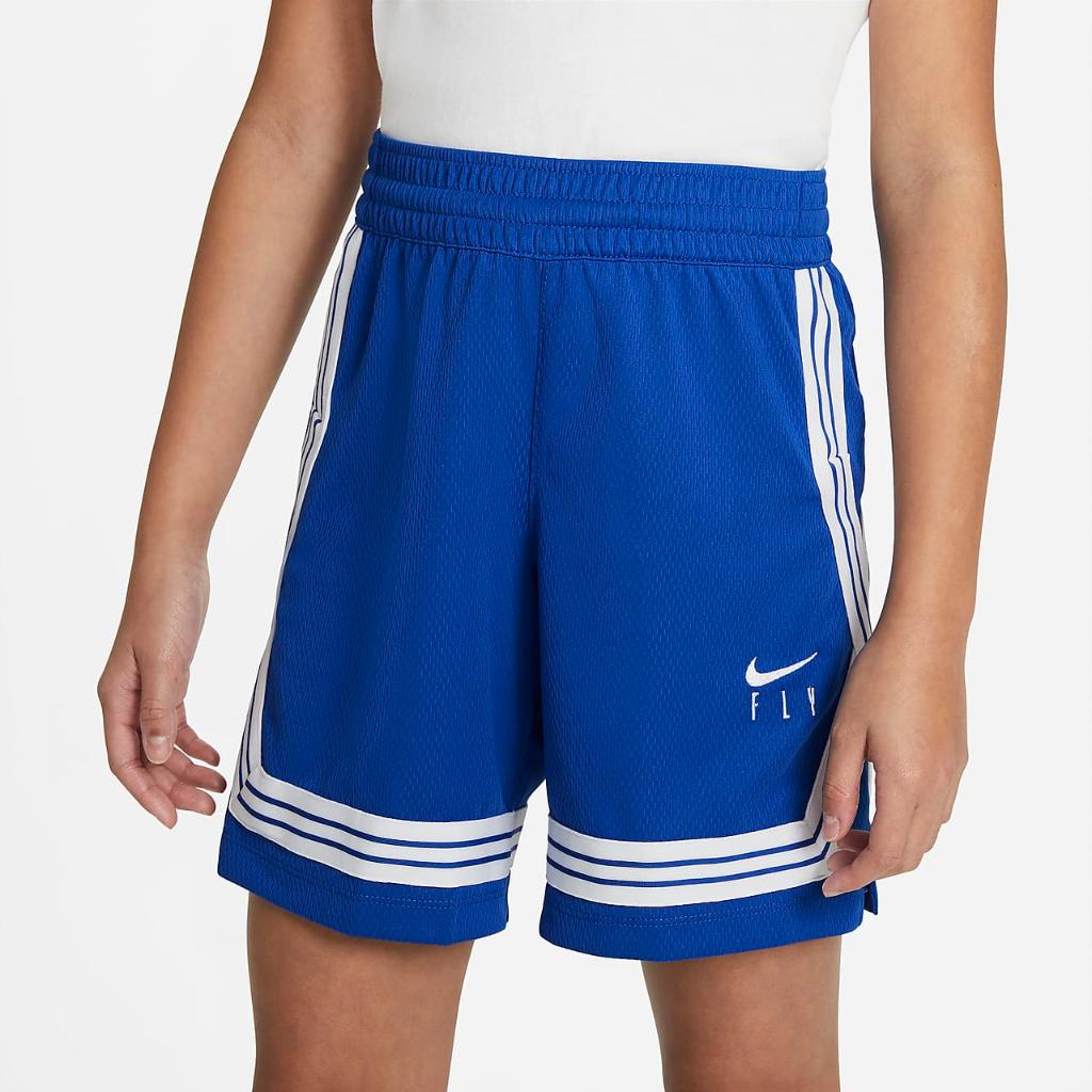Nike Fly Crossover Big Kids' (Girls') Training Shorts DA1086-480