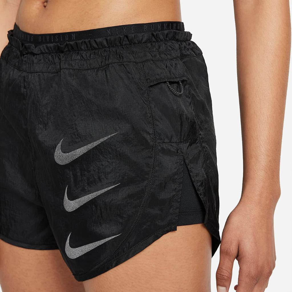 Nike Tempo Luxe Run Division Women's 2-In-1 Running Shorts DA1280-010