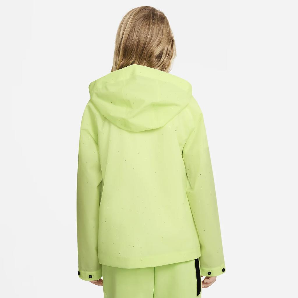 Nike Sportswear Windrunner Zero Big Kids' Hooded Jacket DA1408-383