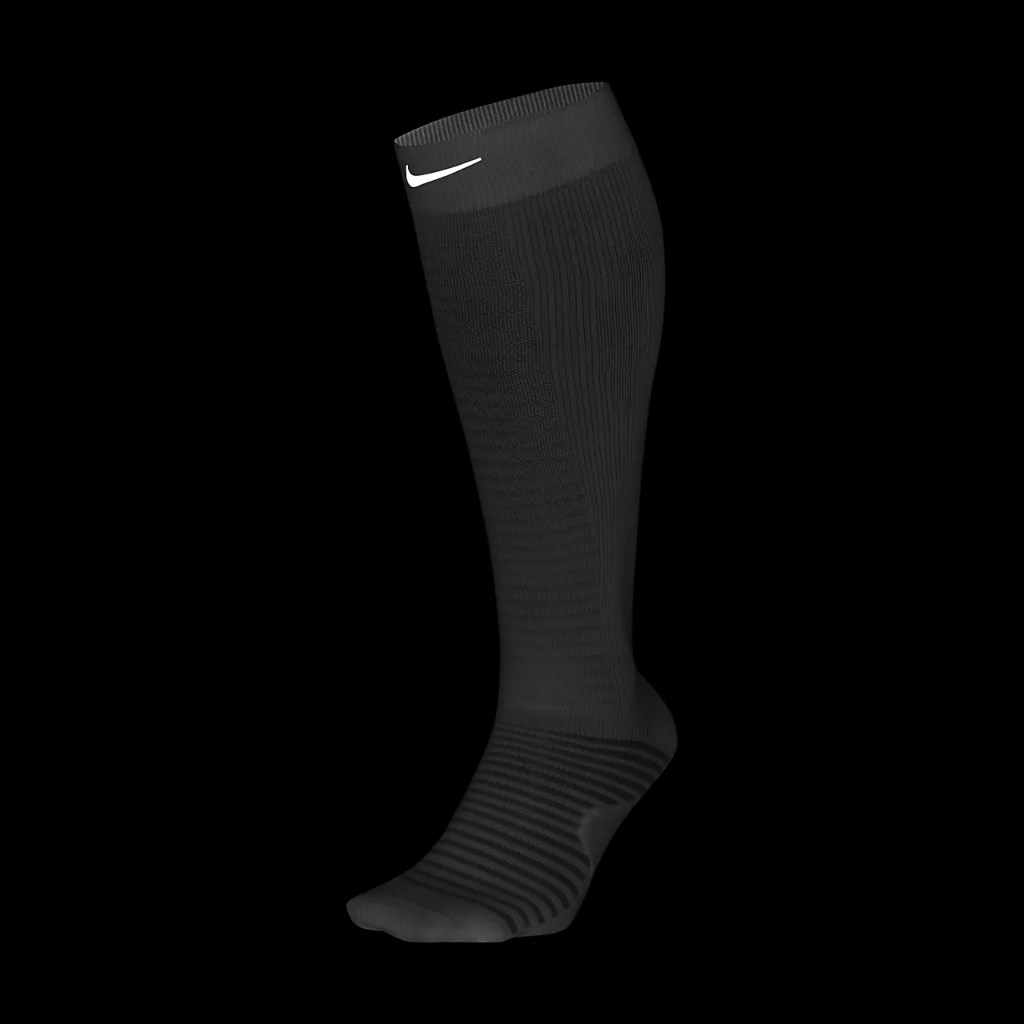 Nike Spark Lightweight Over-The-Calf Compression Running Socks DB5471-100