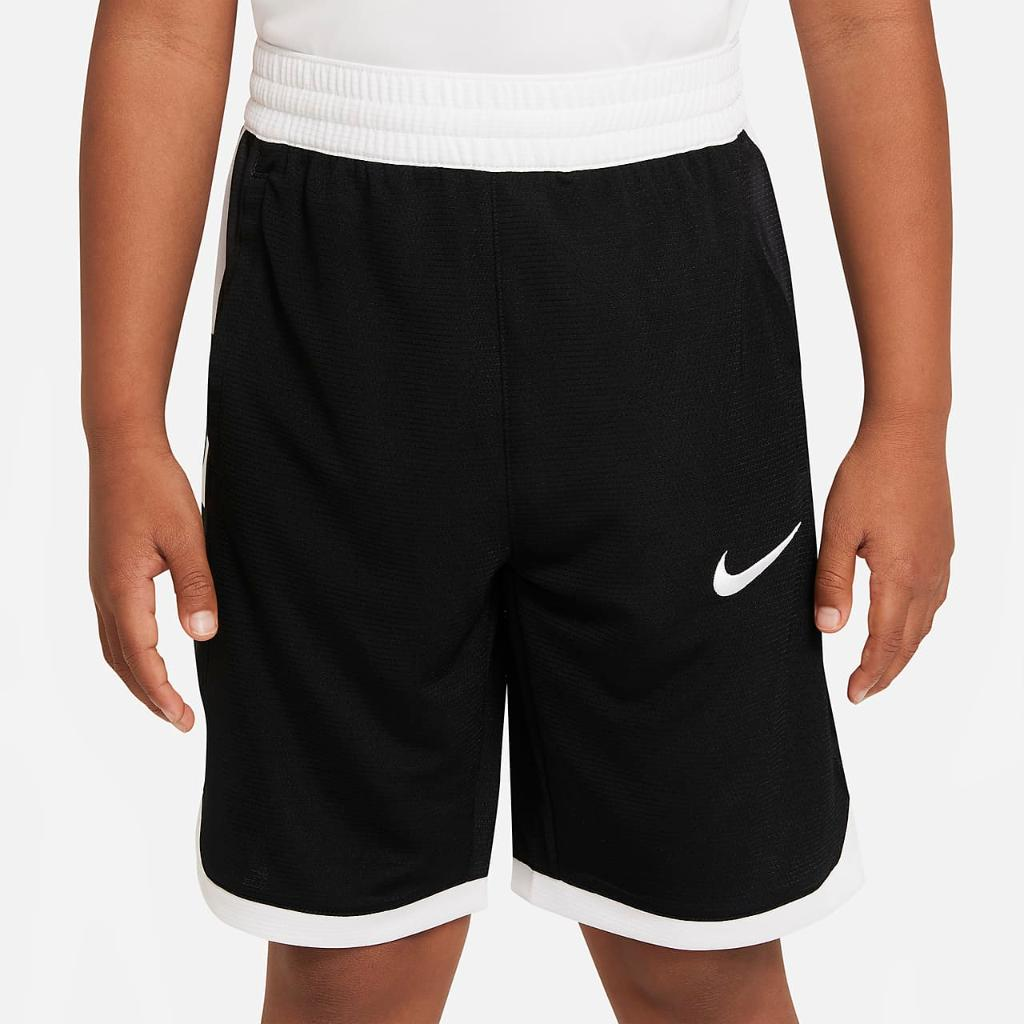 Nike Dri-FIT Elite Big Kids' (Boys') Basketball Shorts DB5543-010