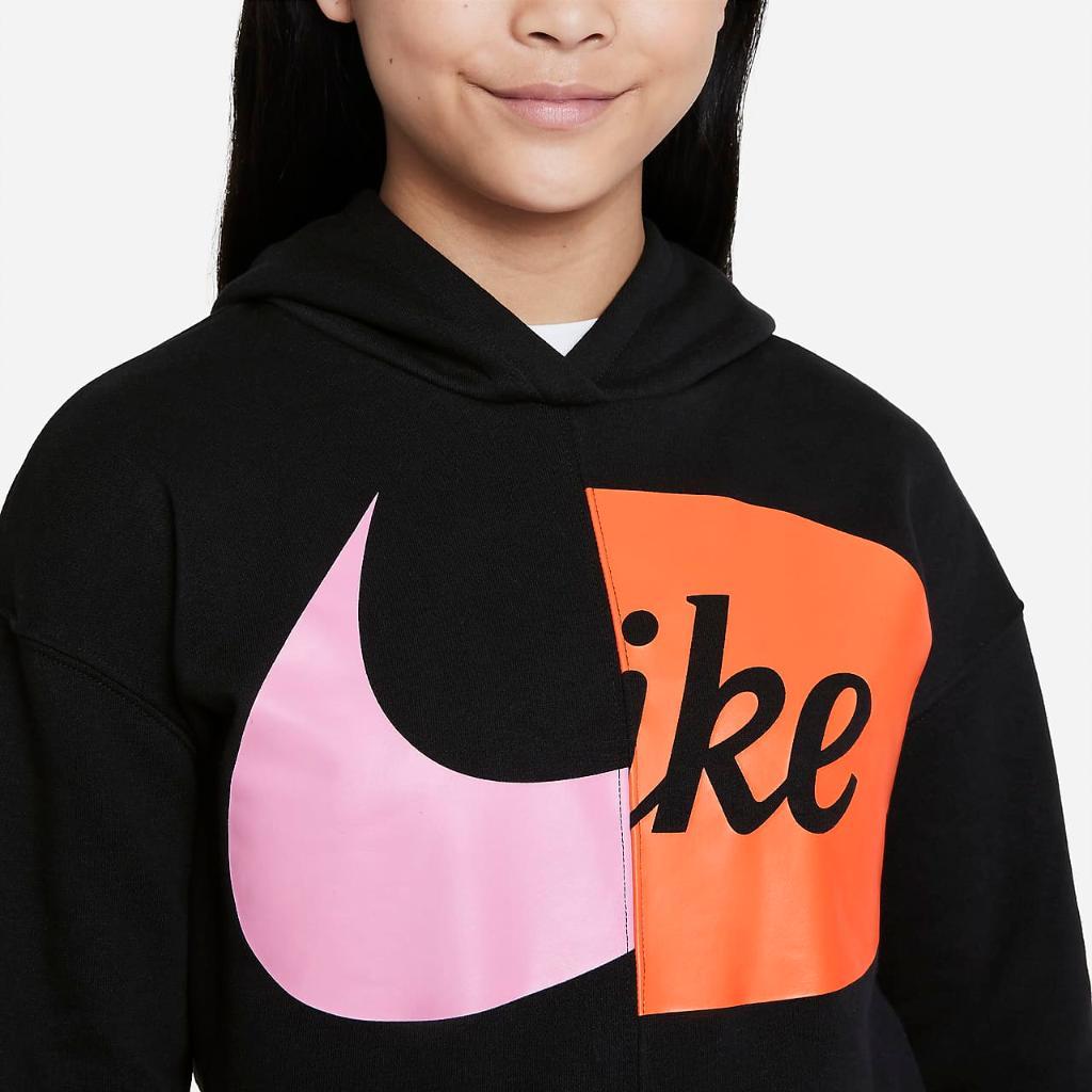 Nike Sportswear Big Kids' (Girls') Hoodie DB5808-010