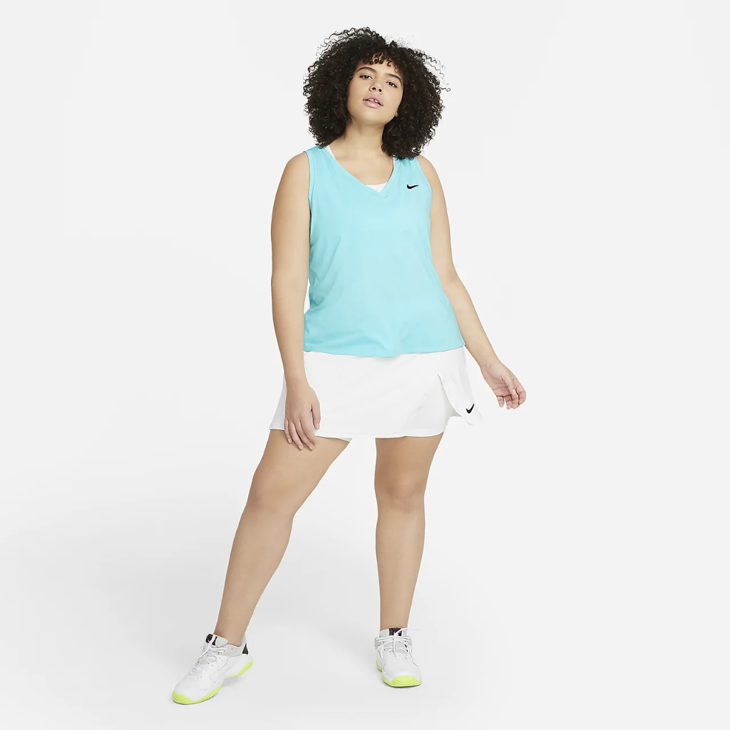 NikeCourt Victory Women's Tennis Tank (Plus Size) DB6605-482