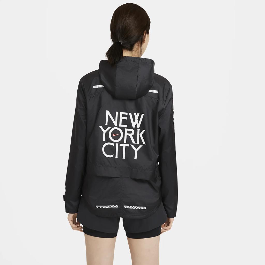 Nike Essential NYC Women's Full-Zip Running Jacket DC4876-010