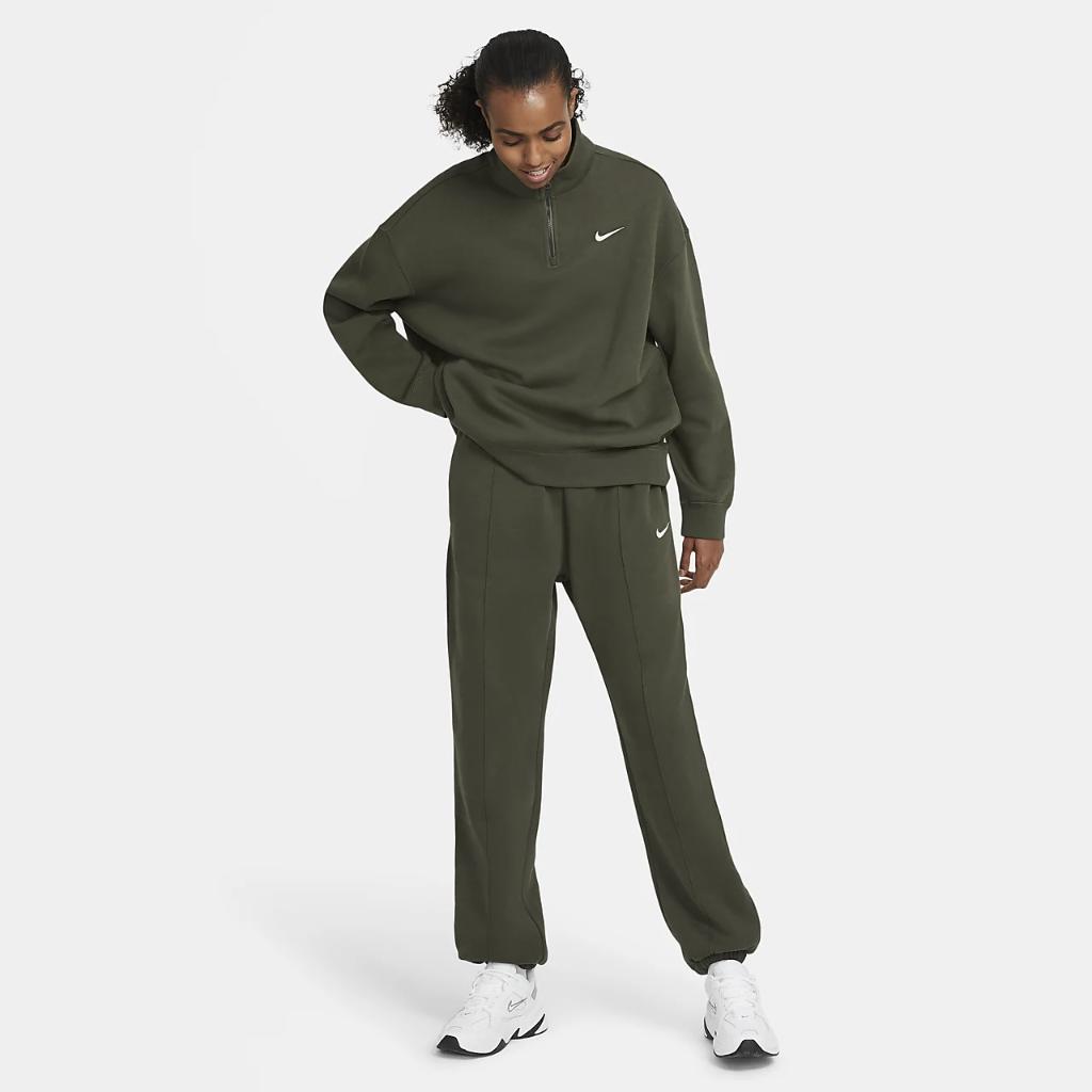 Nike Sportswear Women's 1/4-Zip Fleece DC5424-325