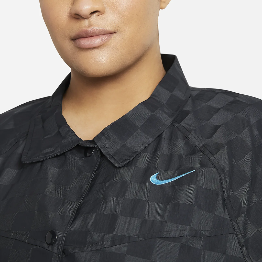 Nike Sportswear Icon Clash Women's Coaches' Jacket (Plus Size) DC6951-010