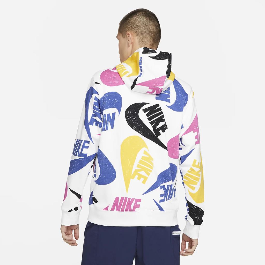 Nike Sportswear Club Men's French Terry Pullover Hoodie DD1121-455