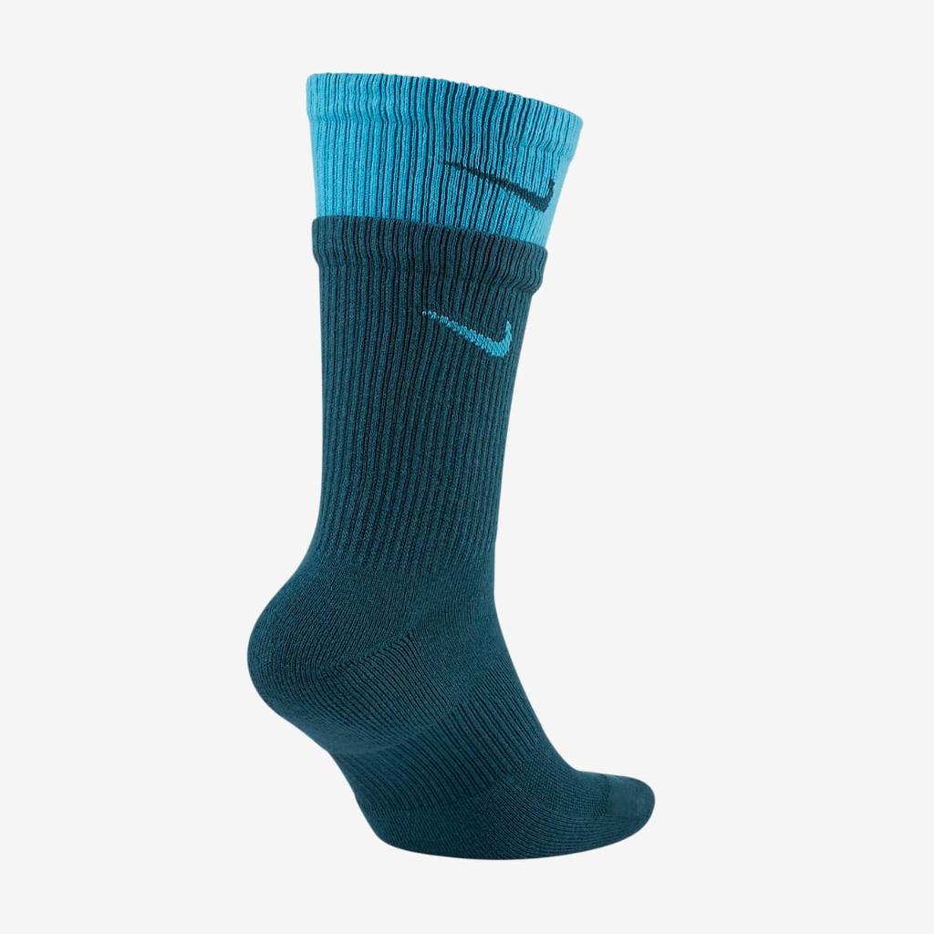 Nike Everyday Plus Cushioned Training Crew Socks DD2795-393