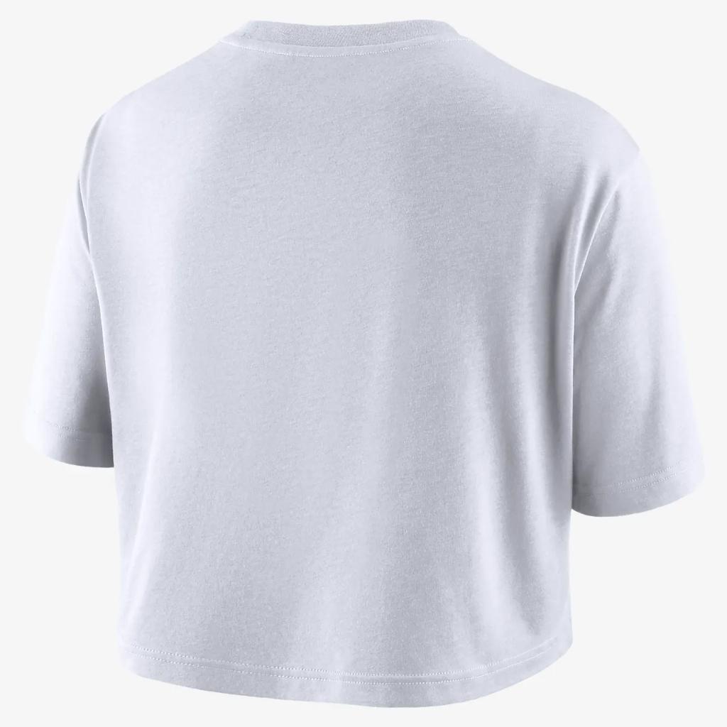 Nike College (Kentucky) Women's Cropped T-Shirt DD4274-100