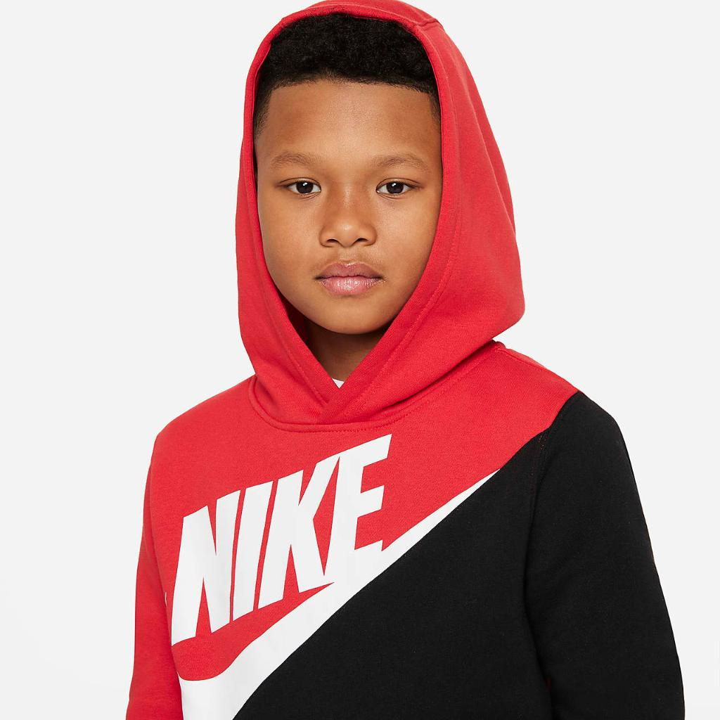 Nike Sportswear Big Kids' (Boys') Pullover Hoodie DD5060-657