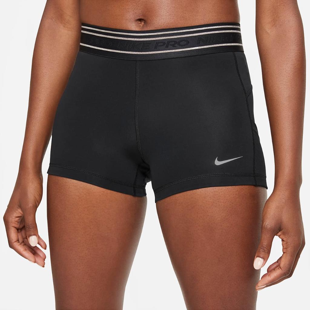 "Nike Pro Dri-FIT Women's 3"" Pocket Shorts DD6199-010"
