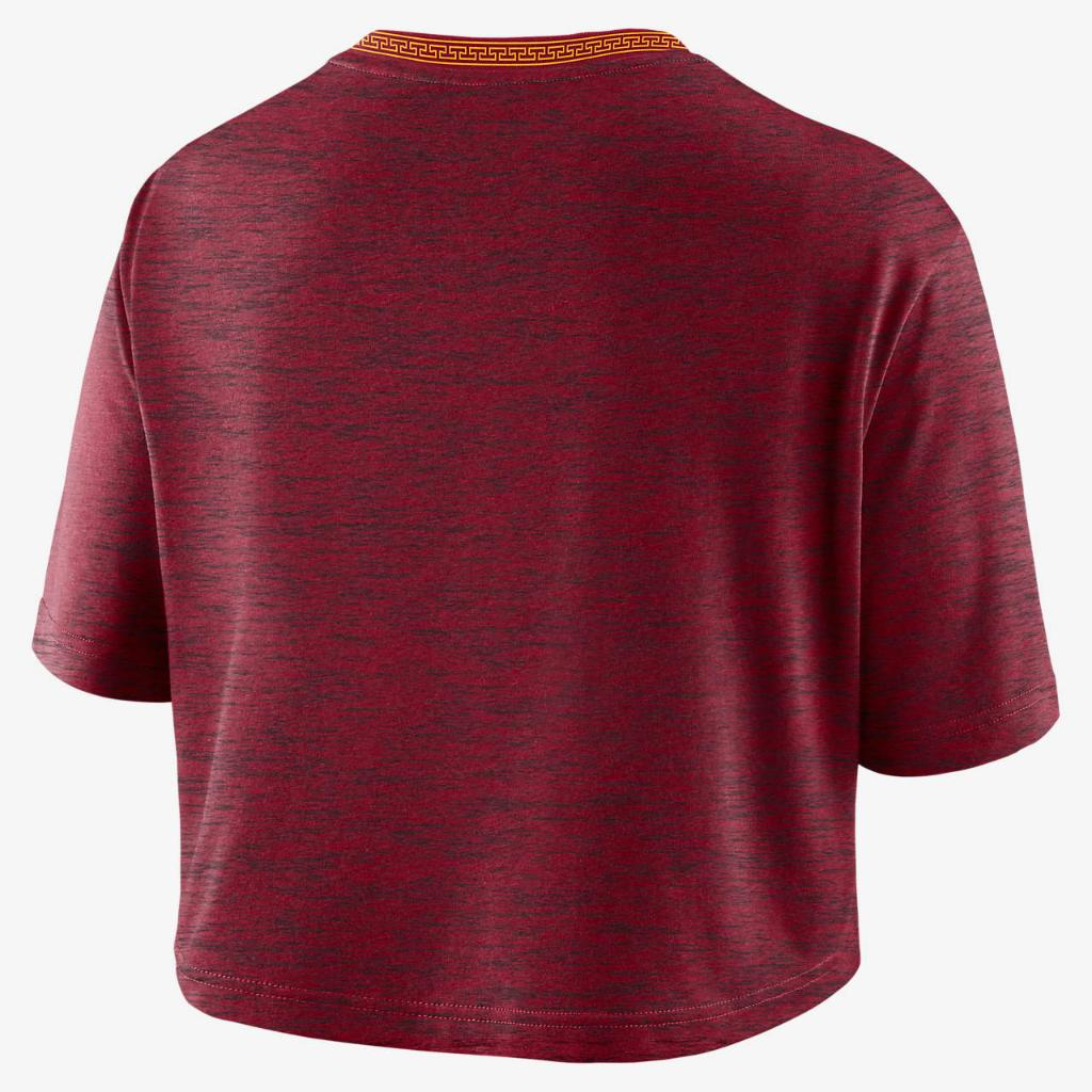 Nike College (USC) Women's Crop T-Shirt DD7945-613