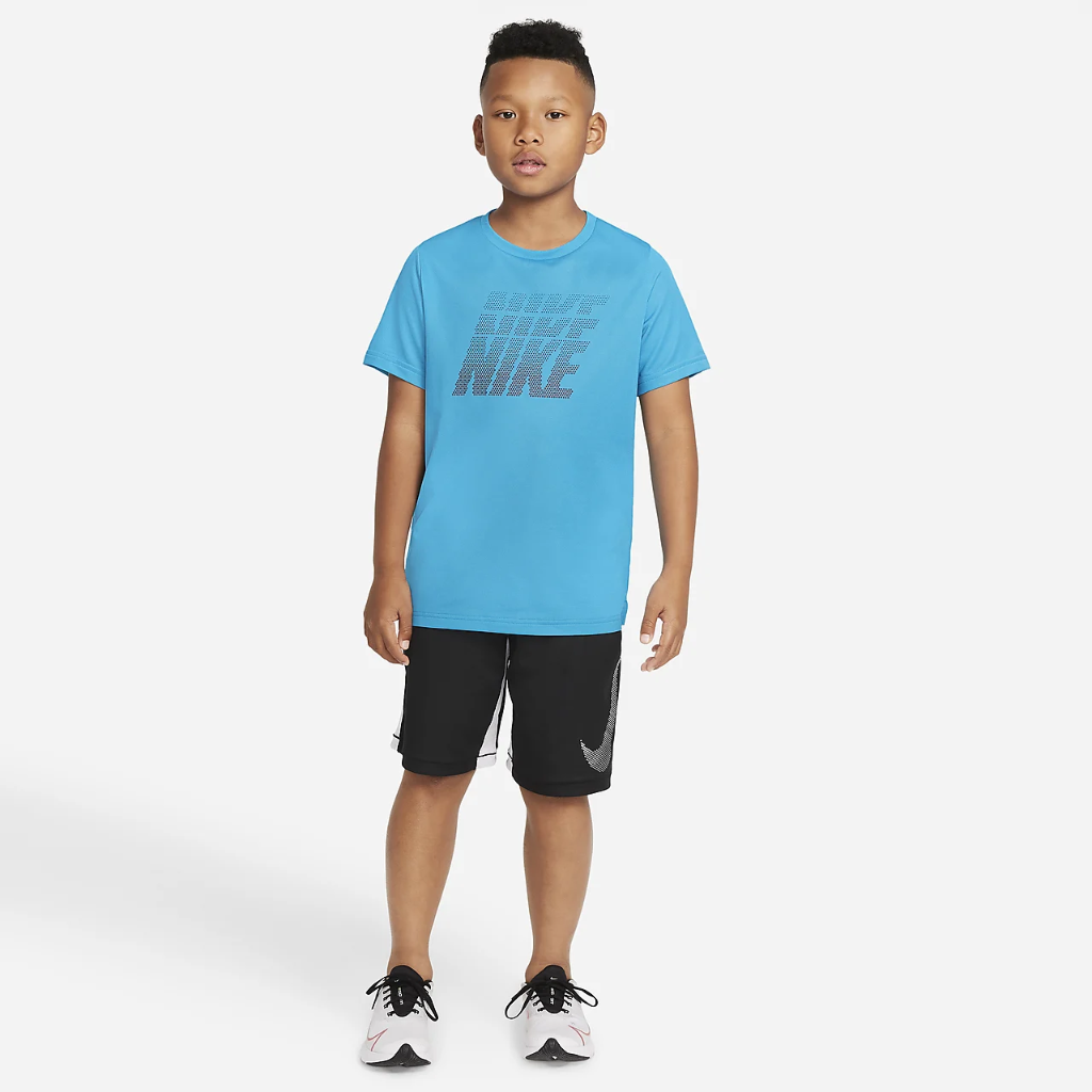 Nike Dri-FIT Big Kids' (Boys') Graphic Training Top DD8539-411